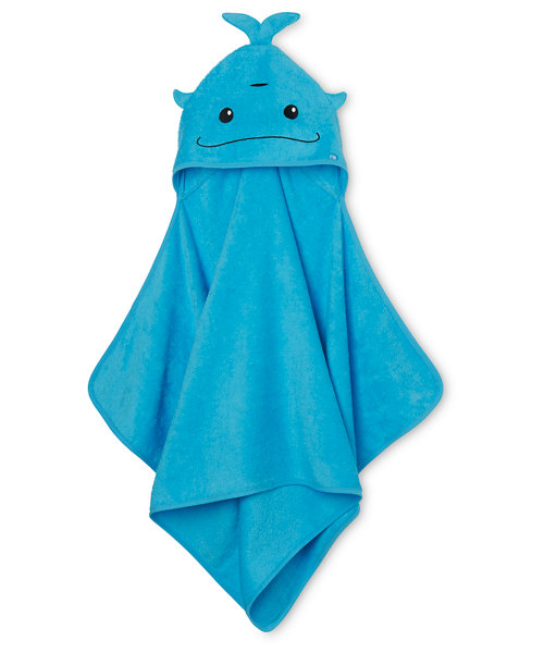 Mothercare Hooded Bath Towel - Whale