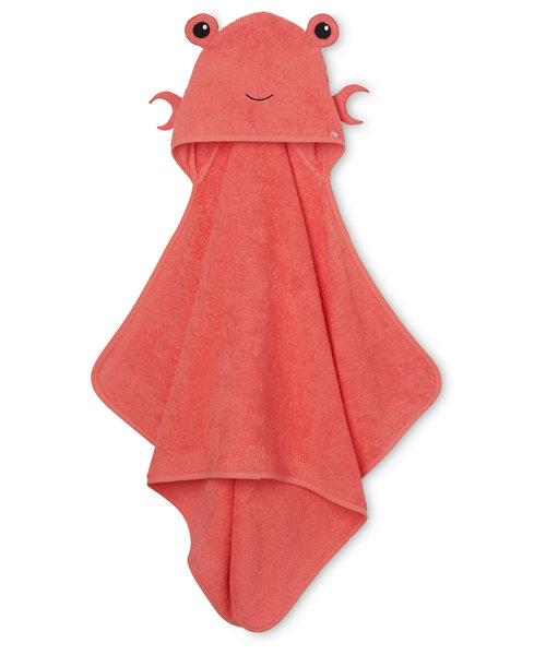 Mothercare Hooded Bath Towel - Crab