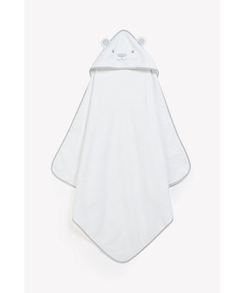 Bear Luxury Cuddle 'N Dry - White