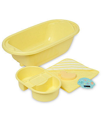 Mothercare Bath Set - Lemon