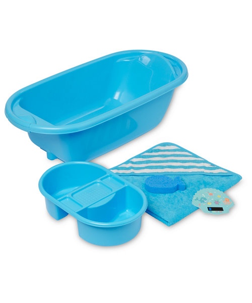 Mothercare Bath Set - Blue