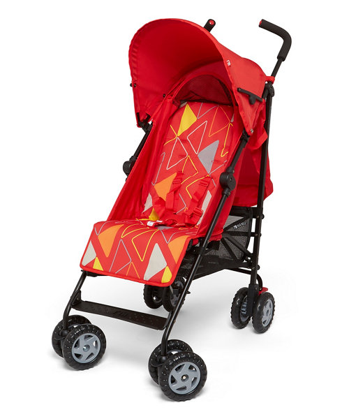 Mothercare Nanu Stroller - Geo Red