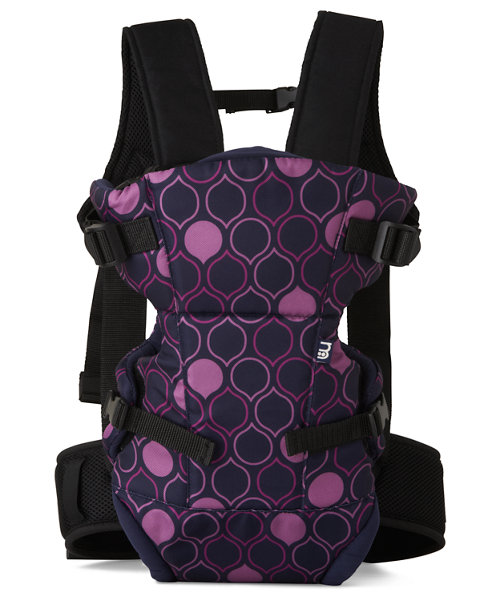 Mothercare Three Position Baby Carrier - Drop Print