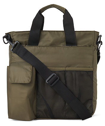 Mothercare Expandable Changing Bag - Khaki