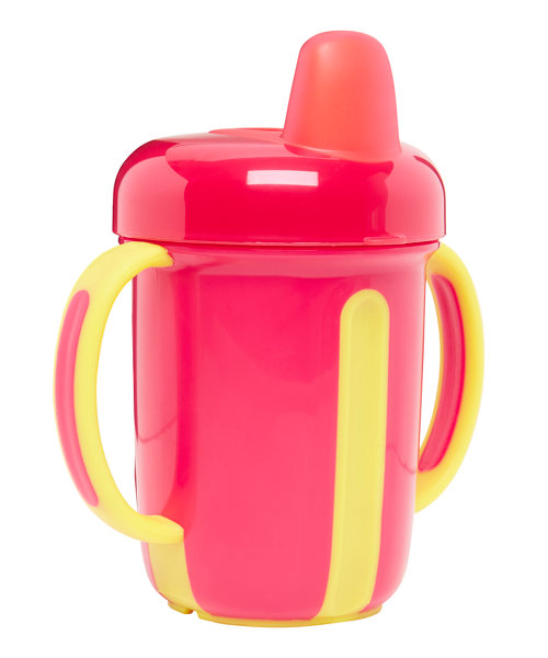 Mothercare Stage 2 Pink Non Spill Cup