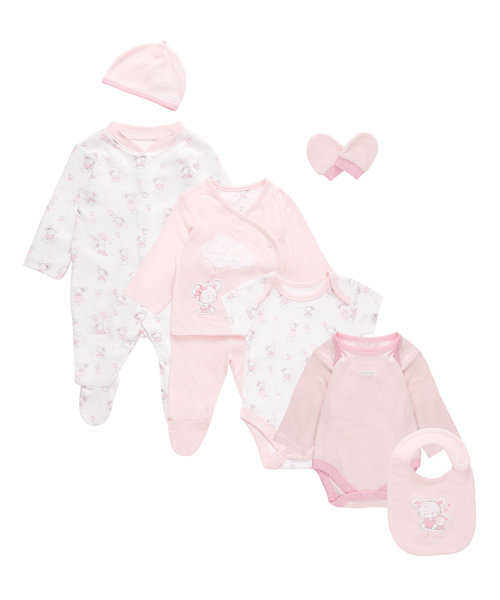 Eight Piece Gift Set - Pink