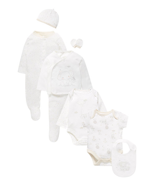 Elephant and Stars Gift Set - 8 Piece