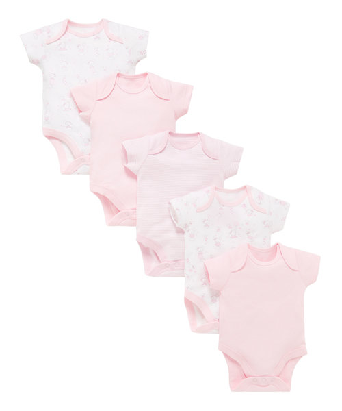 Little Mouse Bodysuits - 5 Pack