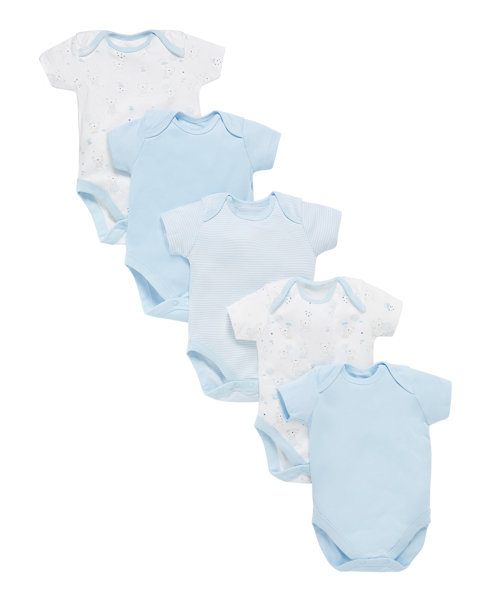 Little Bear Bodysuits - 5 Pack