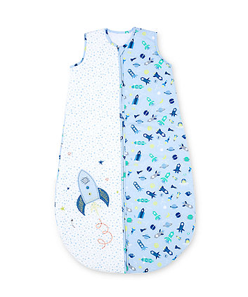 Mothercare Snoozie Space Dreamer Sleep Bag18-36 Months 1 Tog