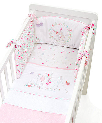 Mothercare My Little Garden Crib Bale