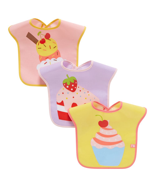 Mothercare Cupcake Bib - 3 Pack