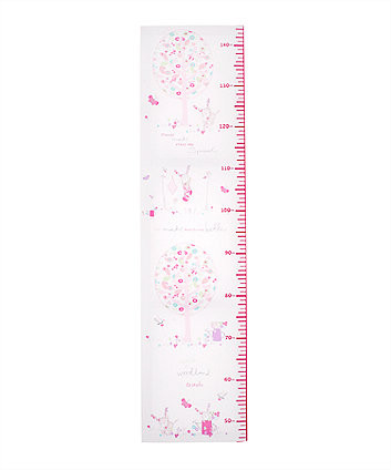 Mothercare My Little Garden Height Chart