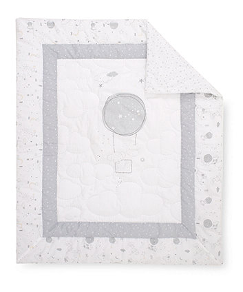 Mothercare Lullaby Moon Cot/Cot Bed Quilt - 4 Tog