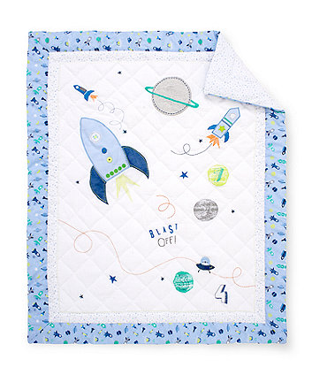 Space Dreamer Cot Bed Quilt