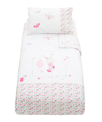 Mothercare My Little Garden Duvet Set - Pink