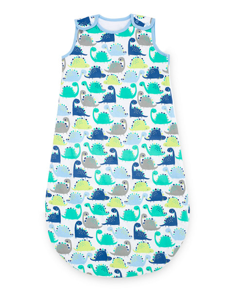 Mothercare Snoozie Dinosaur Sleep Bag 1 Tog 6-18 months