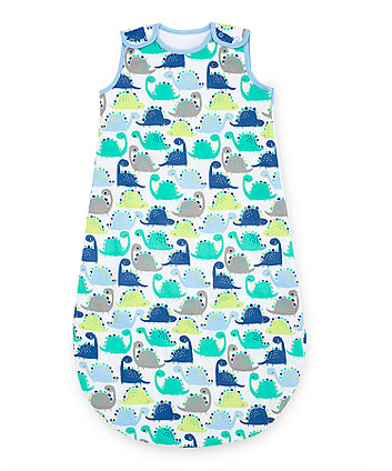 Mothercare Snoozie Dinosaur Sleep Bag 1 Tog 6-18 months