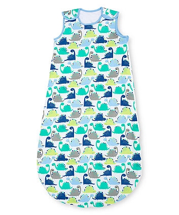 Mothercare Snoozie Dinosaur Sleep Bag 1 Tog - 18-36months