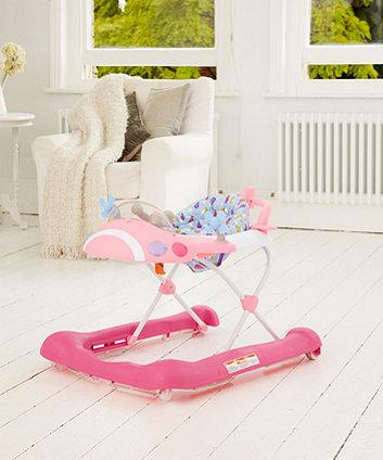 Mothercare Plane Walker - Pink