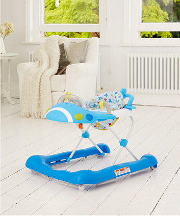 Mothercare Plane Walker - Blue