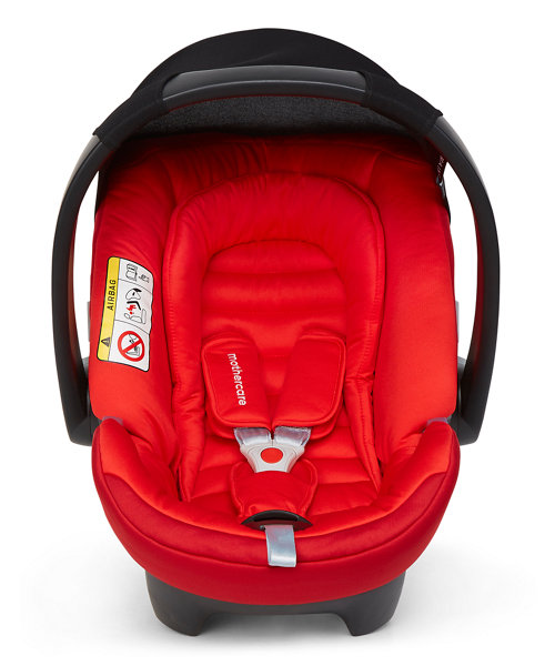 Mothercare Maine Isofix Baby Car Seat - Red