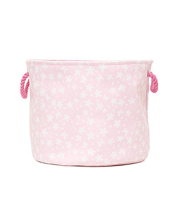Mothercare Pink Large Canvas Storage Basket