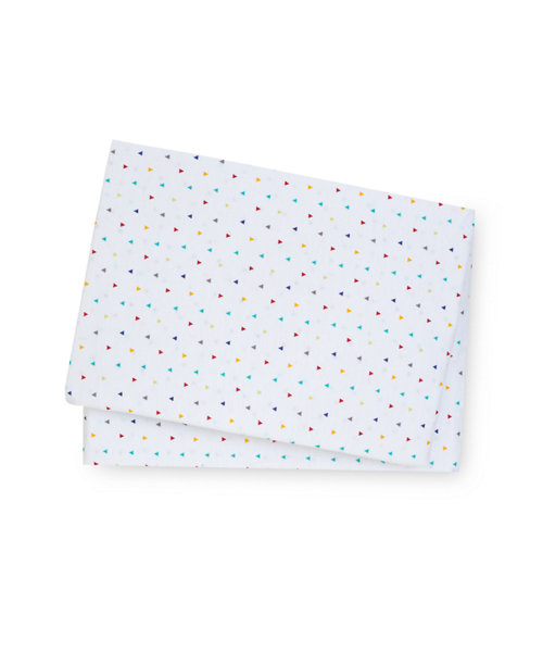 Mothercare Alphabet Brights Fitted Cotbed Sheets - 2 Pack