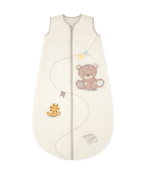 Mothercare Snoozie Teddy's Toy Box Sleep Bag 18-36 months 2.5 Tog
