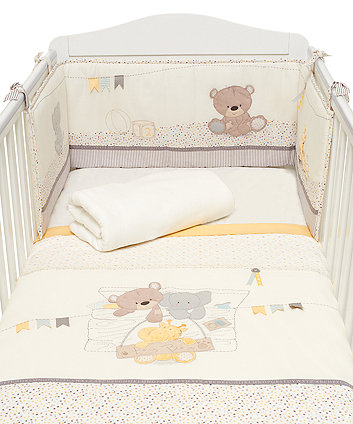 Mothercare Teddys Toy Box Bed In A Bag