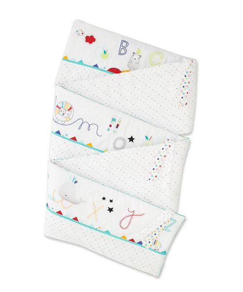 Mothercare Alphabet Brights Cot Bumper