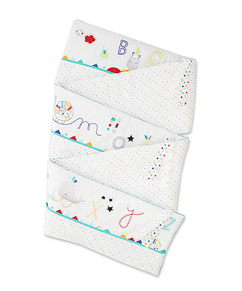 Mothercare Alphabet Brights Long Cot Bumper