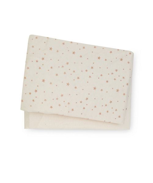 Cream Jersey Cotton Cot Bed Sheets - 2 Pack