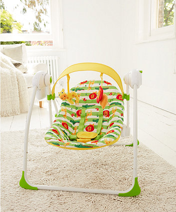 Mothercare Safari Baby Swing