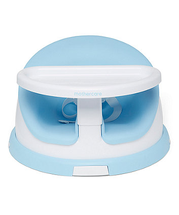 Mothercare 2 in 1 Floor Seat - Blue