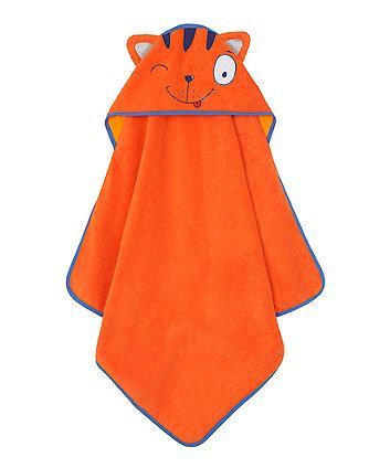 Smile By Julien MacDonald Tiger Towel - Orange