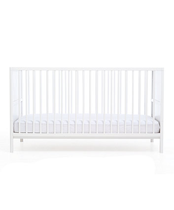 Mothercare Balham Cot Bed White + Mothercare Essential Foam Waterproof Cot Bed Mattress + Mothercare Baby Ocean Plush Assorted Toy (Save $194)