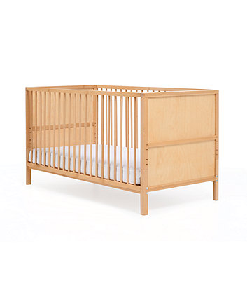 Mothercare Balham Cot Bed (Beech) + Free Mattress