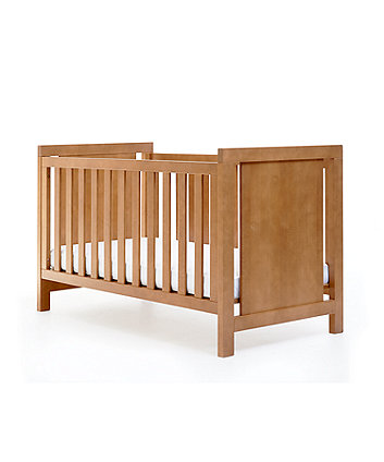 Mothercare Bayswater Cot Bed(Natural) + Free Mattress