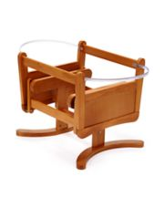 *Mothercare Gliding Moses Basket Stand - Antique