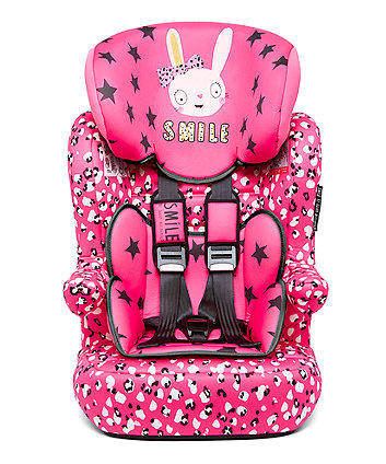Julien MacDonald Advance XP Highback Booster Car Seat - Bunny