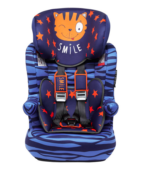 Julien MacDonald Advance XP Highback Booster Car Seat - Tiger