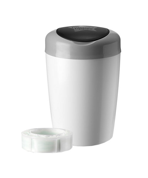 Tommee Tippee Simplee Sangenic Nappy Disposal Bin - Grey