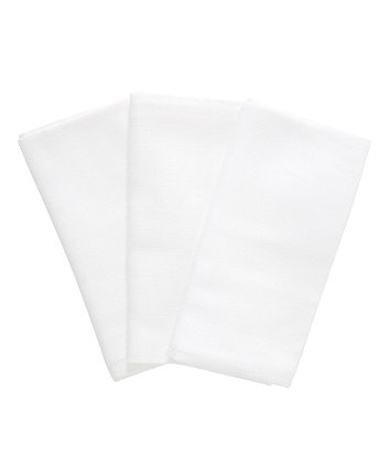 mothercare white xl muslins - 3 pack