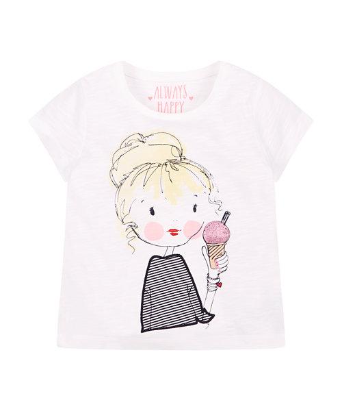 Girl and Ice Cream T-Shirt