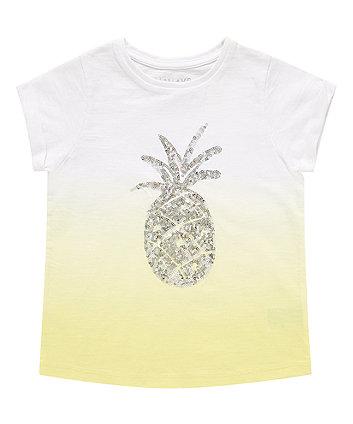Dip Dye Pineapple T-Shirt