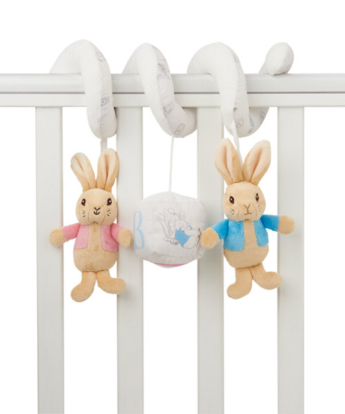 Mothercare Beatrix Potter Peter Rabbit Cot Spiral
