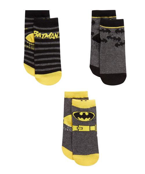 DC Batman Socks - 3 Pack