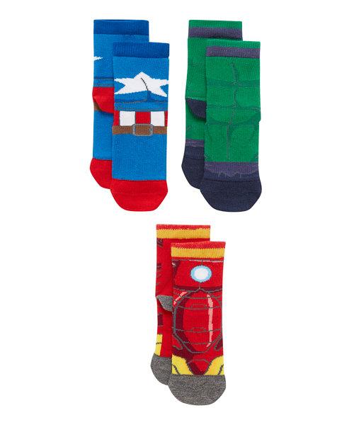 Marvel Avengers Socks - 3 Pack
