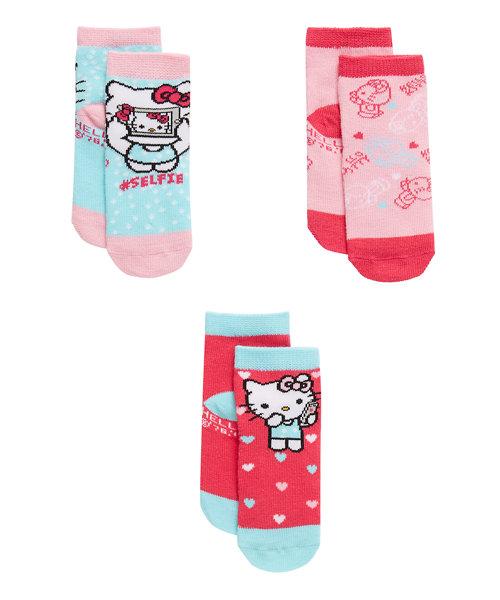 Hello Kitty Socks - 3 Pack